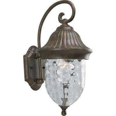 Coventry Collection Fieldstone 1-Light 17.25 in. Outdoor Wall Lantern Sconce