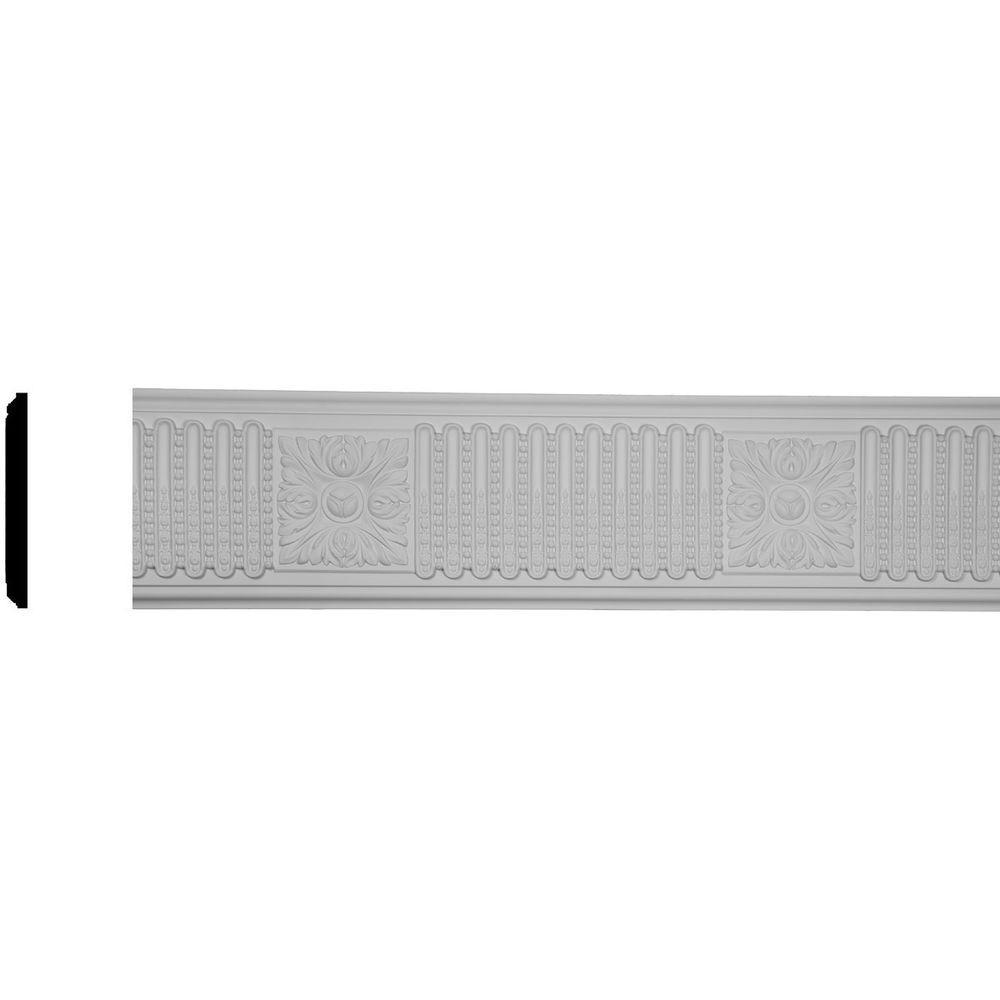 Ekena millwork 1 3 8 in x 7 7 8 in x 96 in polyurethane for Millwork definition