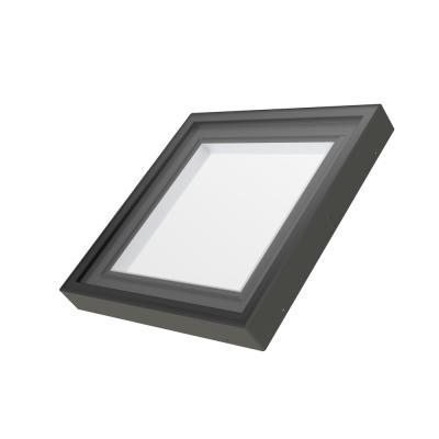 FXC 34-1/2 in. x 34-1/2 in. Fixed Curb-Mounted Skylight with Laminated LowE366 Glass