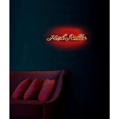 Oliver Gal 'Highroller' Plug-in Neon Lighted Sign
