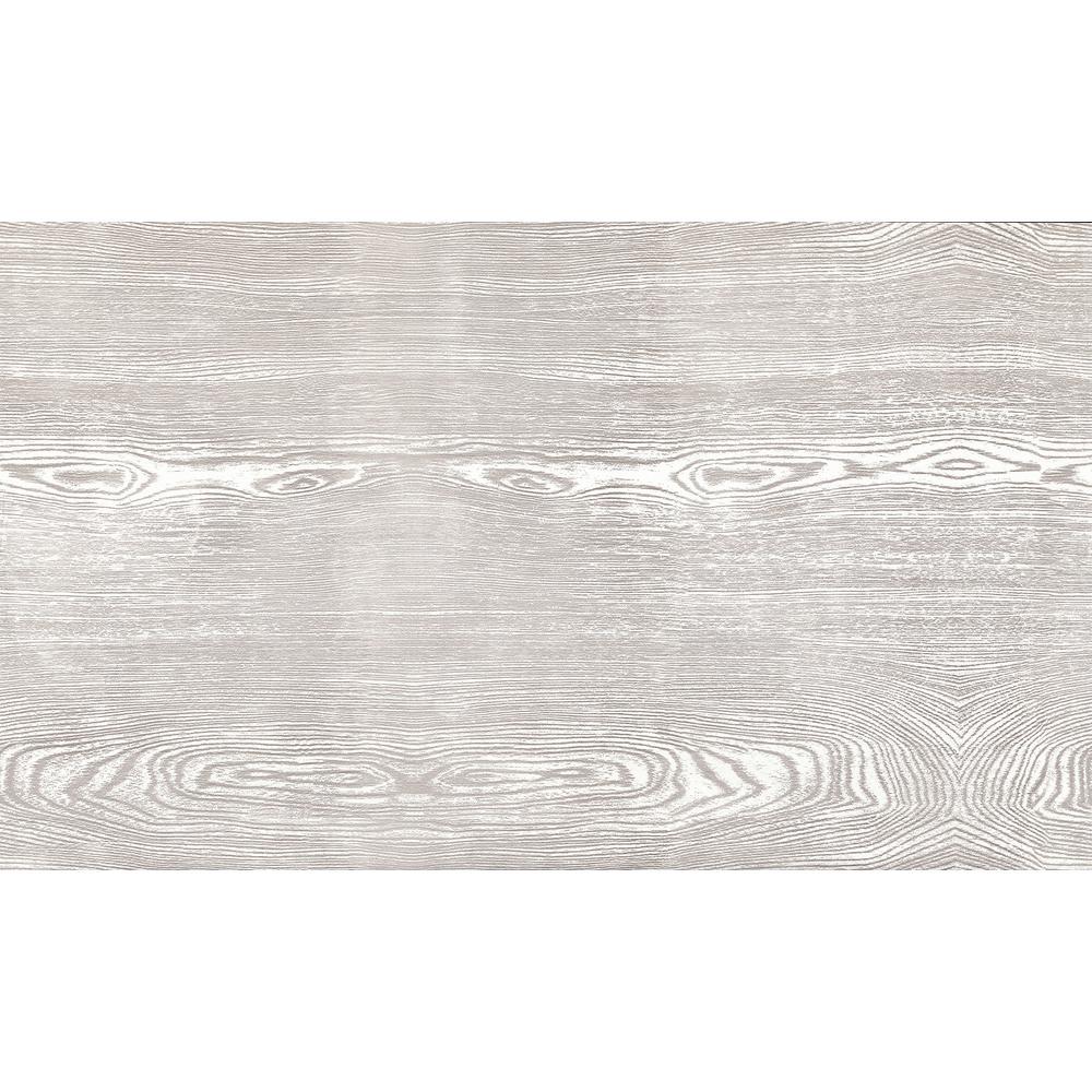 Silver Grey Oak Faux Materials Adhesive Film (Set of 2)