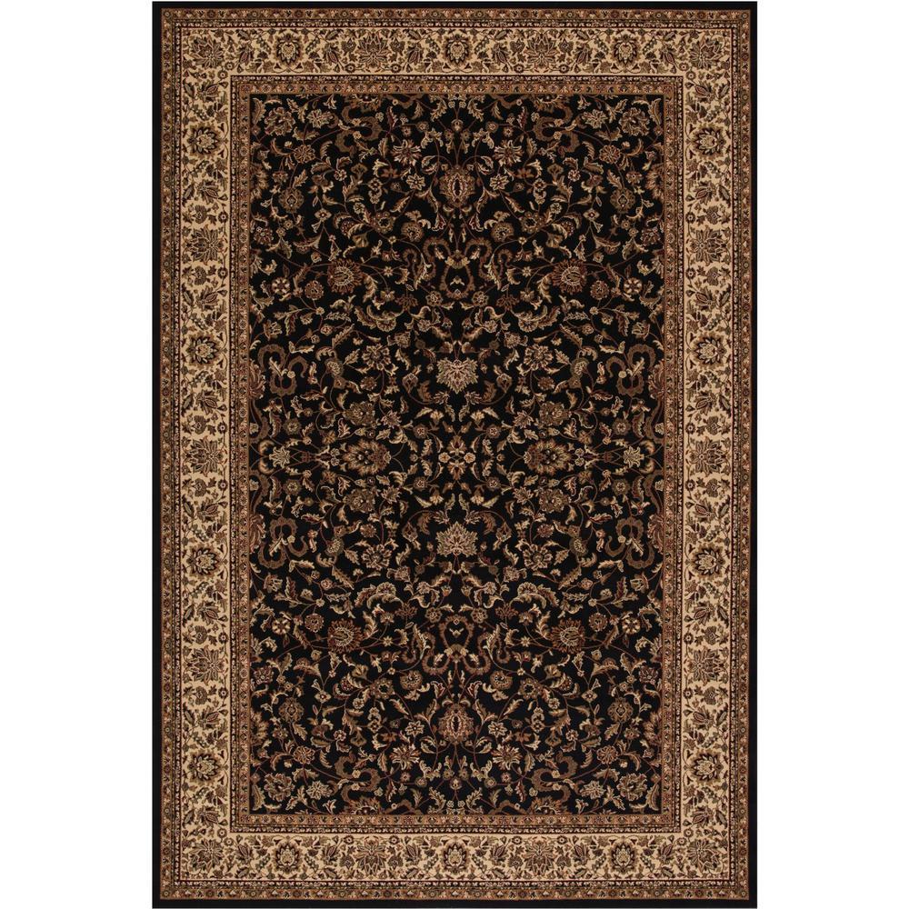 Concord Global Trading Persian Classic Kashan Black