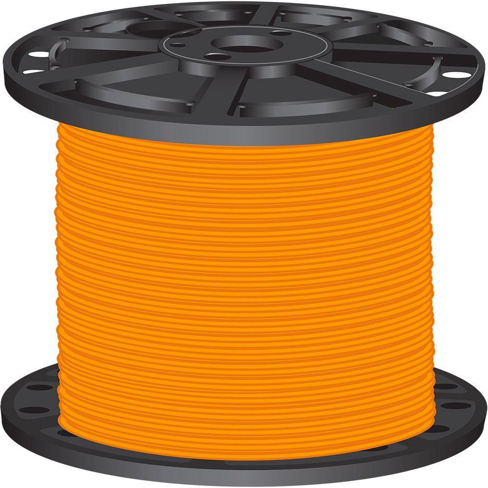 2,500 ft. 8 Orange Stranded CU SIMpull THHN Wire