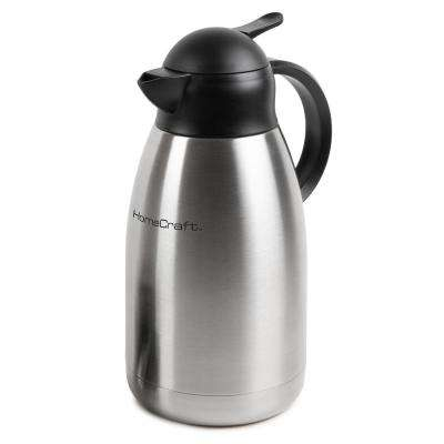 8.5-Cup Stainless Steel Coffee Urn with Double Wall Insulation
