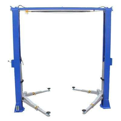 Bi-Symmetric 2 Post Clear Floor Direct Drive 3 Stage Single Point 11,000 lbs.