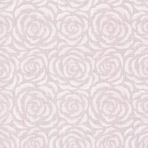 Rosette Lavender Rose Pattern Paper Strippable Wallpaper (Covers 56.4 sq. ft.)