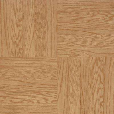 Parkson Light Oak 12 in. x 12 in. Residential Peel and Stick Vinyl Tile Flooring (45 sq. ft. / case)