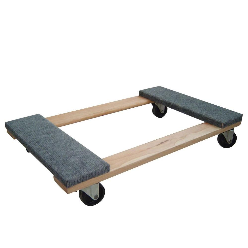 Buffalo Tools 1000 Lb Capacity Furniture Dolly Hdfdolly The Home