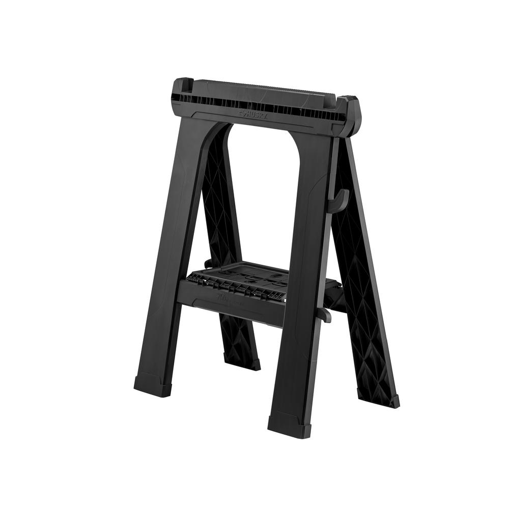 24 in. Folding Sawhorse (2-Pack)