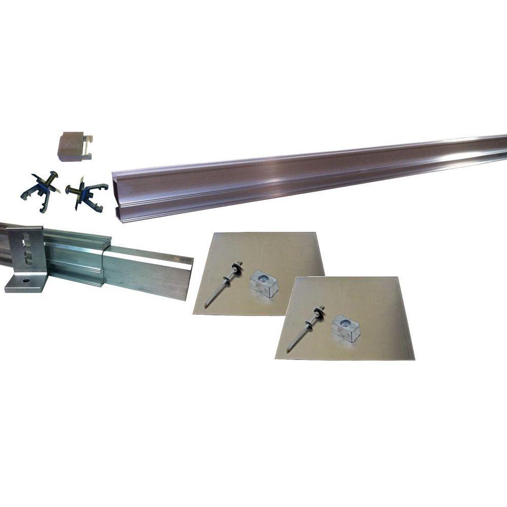 null 10,000-Watt Direct Mount Racking System (Asphalt Shingle)-DISCONTINUED