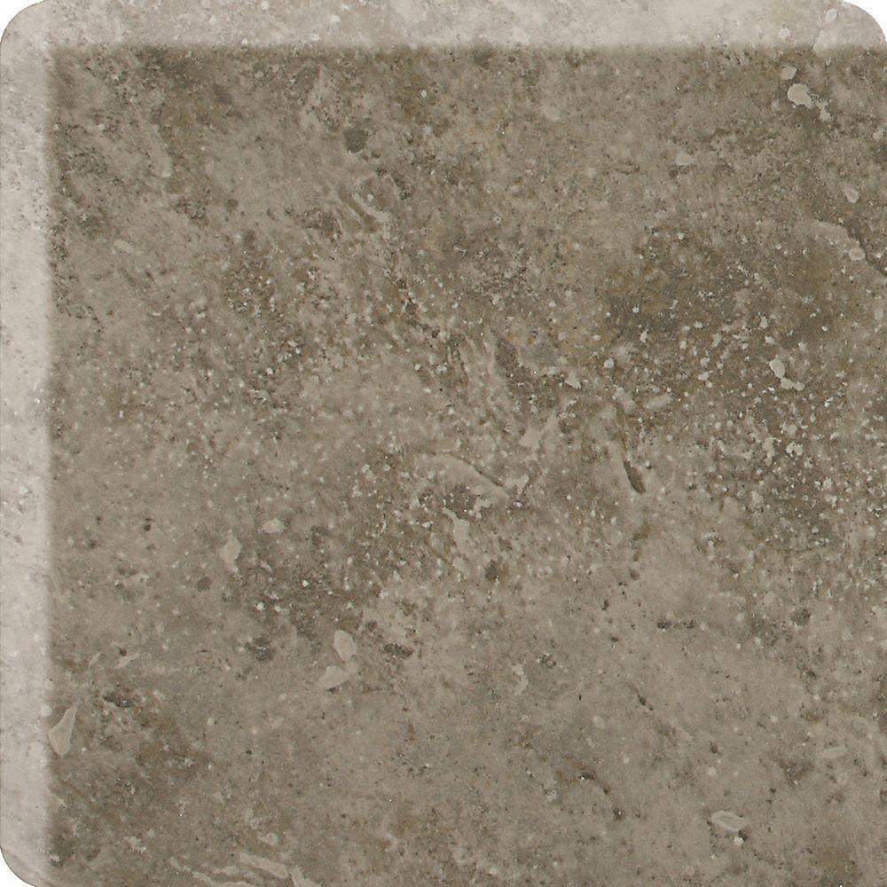 Heathland Sage 2 in. x 2 in. Glazed Ceramic Bullnose Corner Wall Tile
