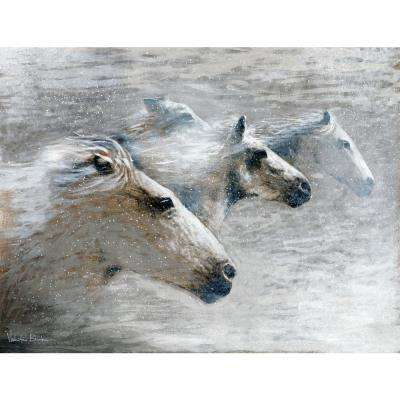 "26 in. x 34 in. ""Unbroken Spirit"" ""By Valentino Bustos"" Hand Painted Boxed Canvas Wall Art"