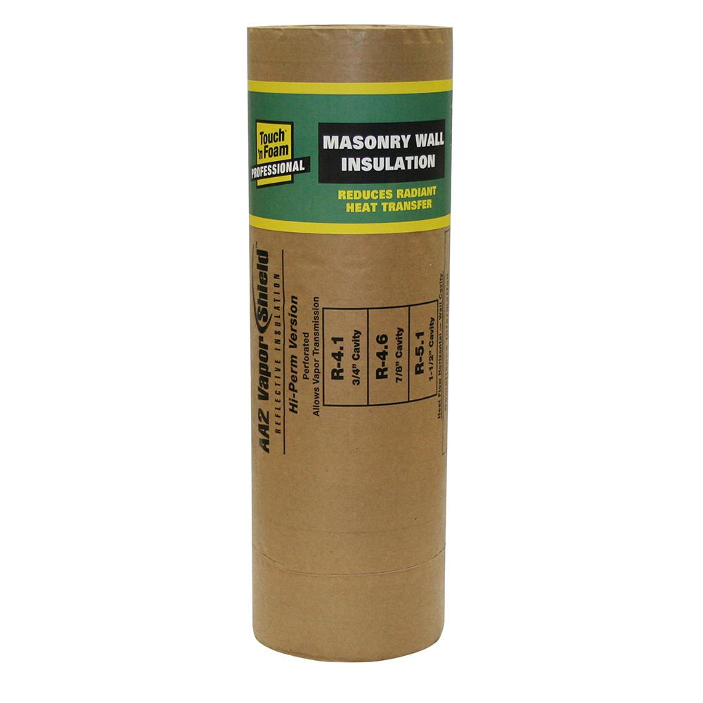 Touch 'n Foam 16 in  x 113 ft  AA2 Masonry Wall Insulation