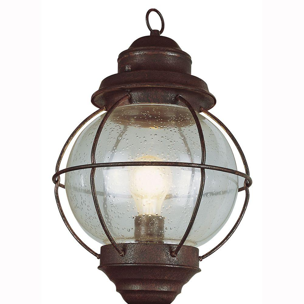 Bel Air Lighting Lighthouse 1-Light Outdoor Rustic Bronze