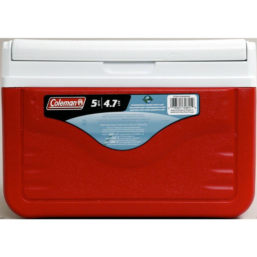 5 qt. FlipLid Chest Cooler with Molded Beverage Holders