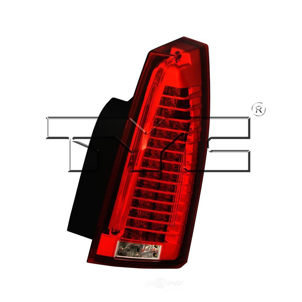 TYC Tail Light Assembly 2008-2012 Cadillac CTS-11-6397-00