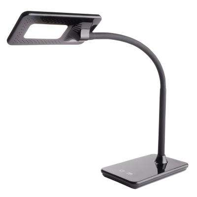 7.5W Full Feature LED Desk Lamp, Black