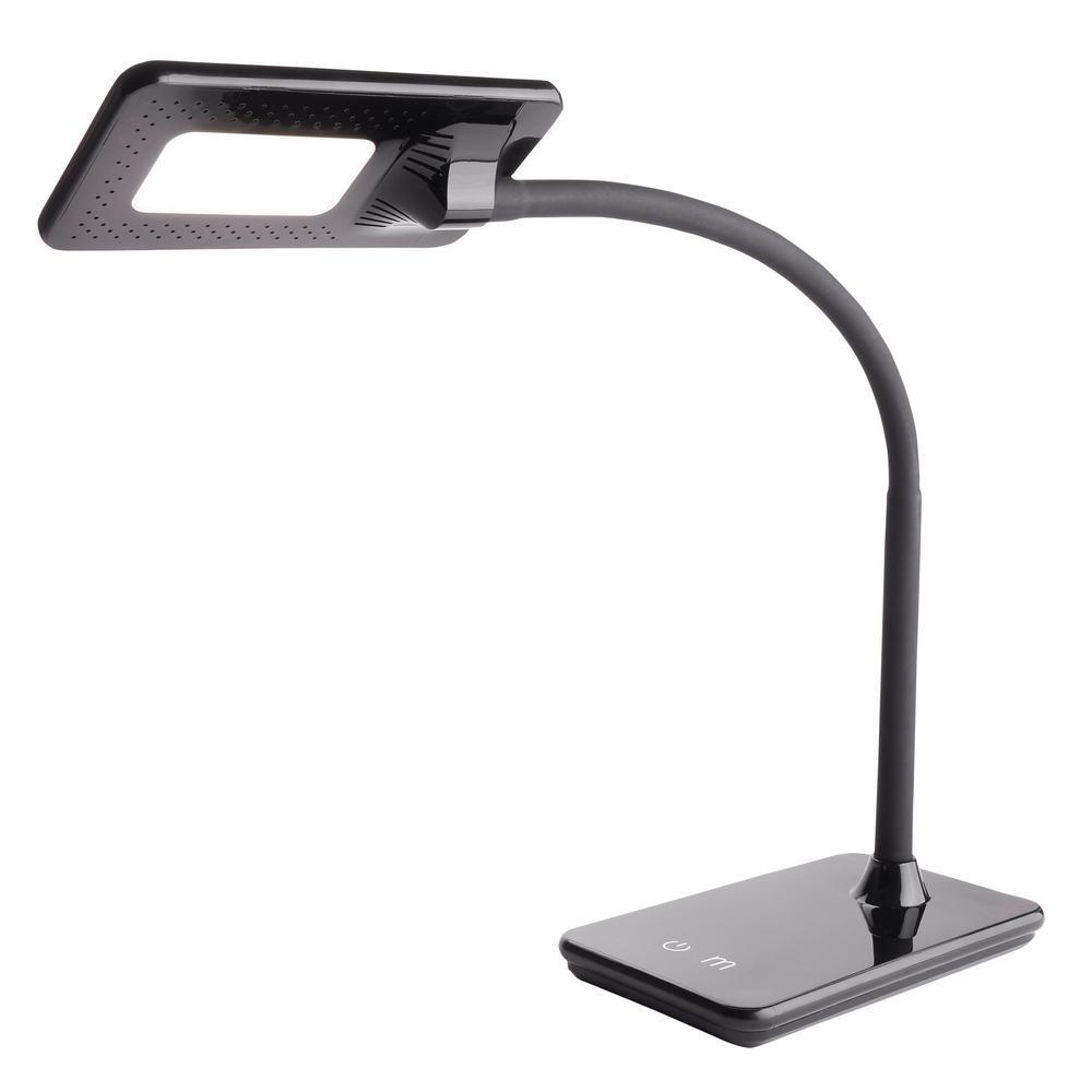 7.5W Full Feature LED Desk Lamp, Black