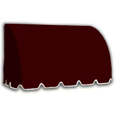 5.38 ft. Wide Savannah Window/Entry Awning (44 in. H x 36 in. D) Burgundy
