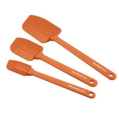 Nylon Orange Spatula Set of 3