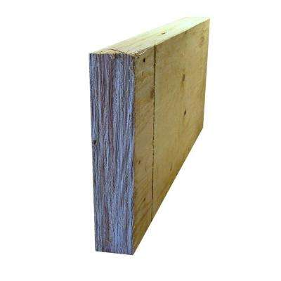 1-3/4 in. x 11-7/8 in. x 20 ft. Douglas Fir Laminated Veneer Lumber (LVL) 1.9E