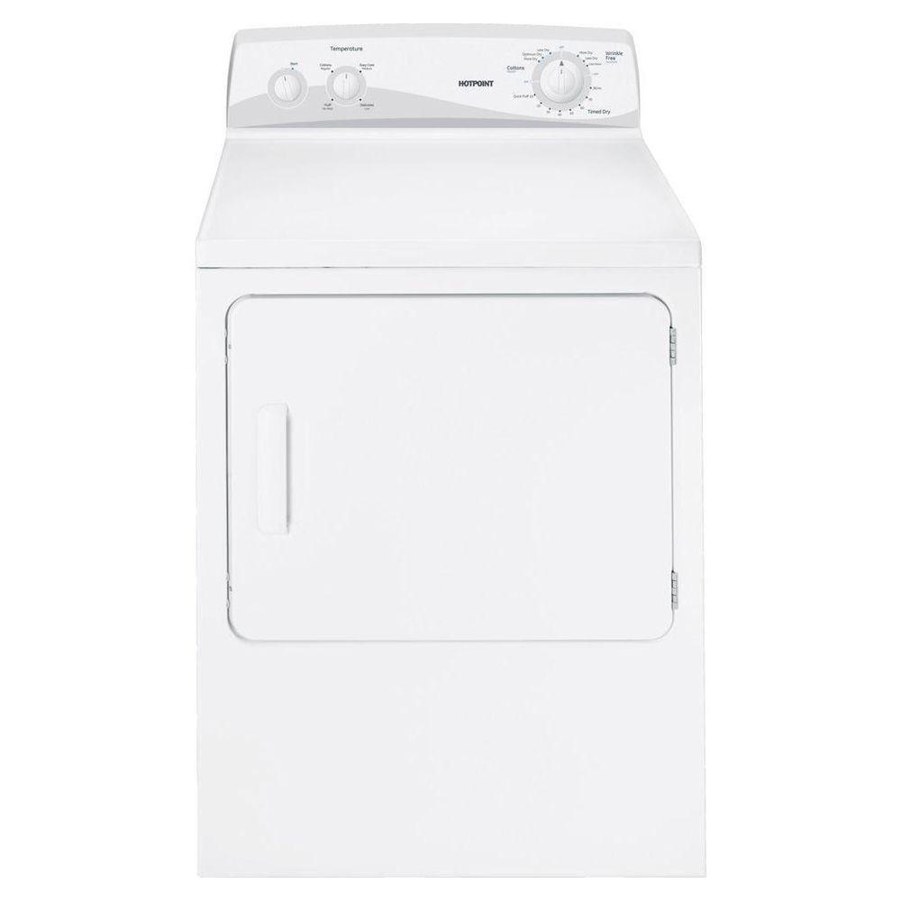 Hotpoint 6.8 cu. ft. Gas Dryer in White