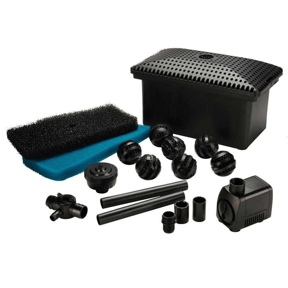 Total Pond Complete Filter Kit With 300 Gph Pump