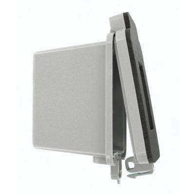 1-Gang Decora/GFCI Device While-In-Use Outdoor Cover, Gray