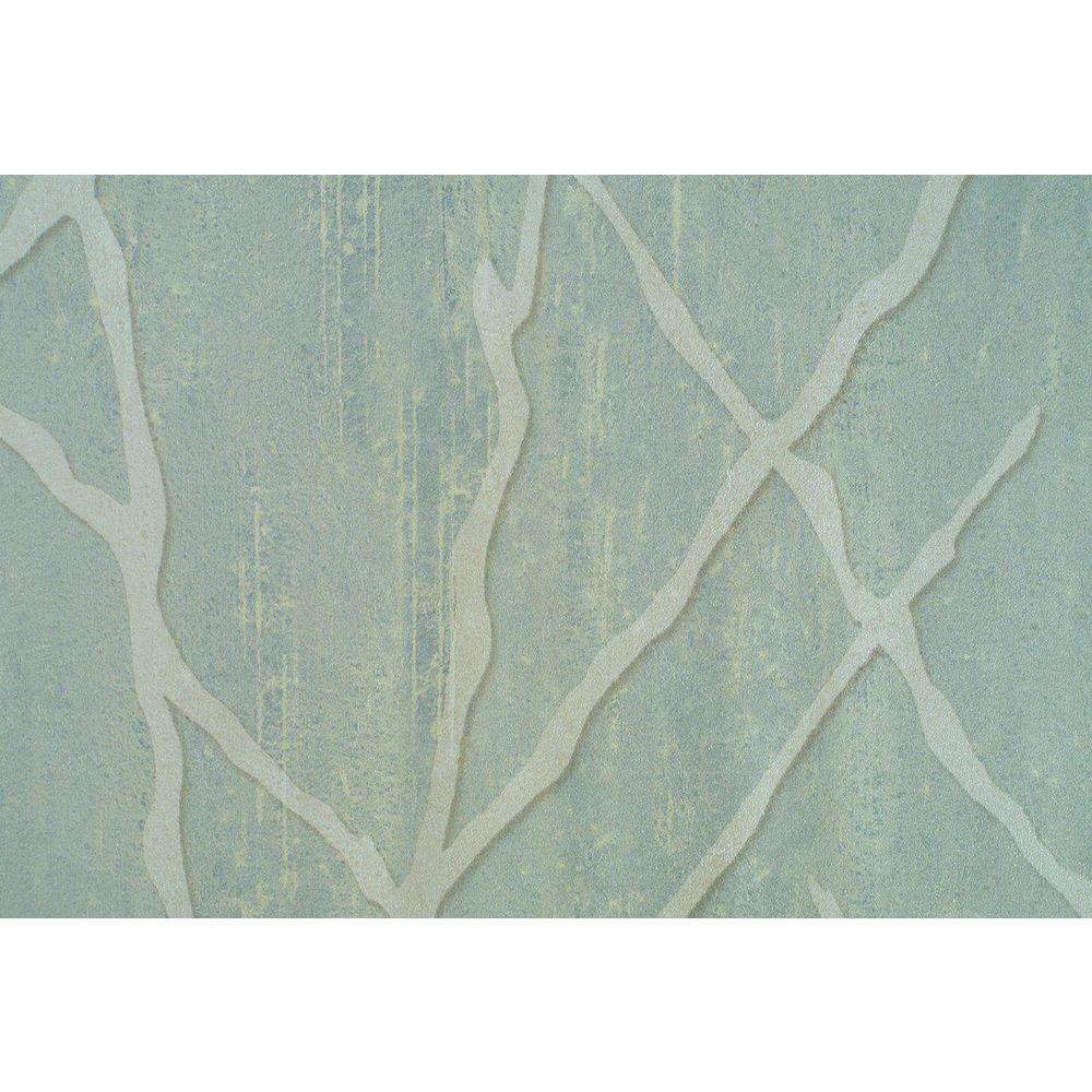 Pale Sage Willow Branch Print Wallpaper