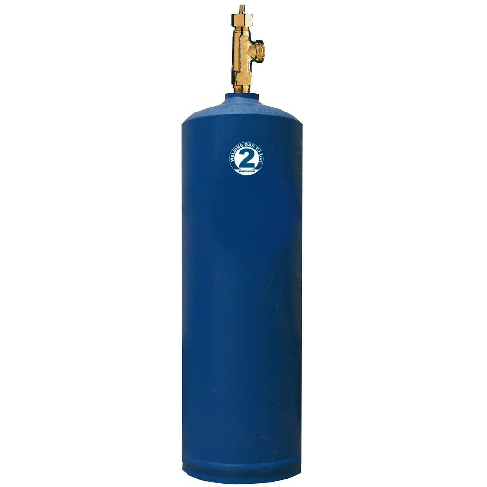 #2 Acetylene 40CF Cylinder Only