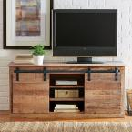 """Home Decorators Collection Holden Natural 54"""" W Storage Entertainment Center"""