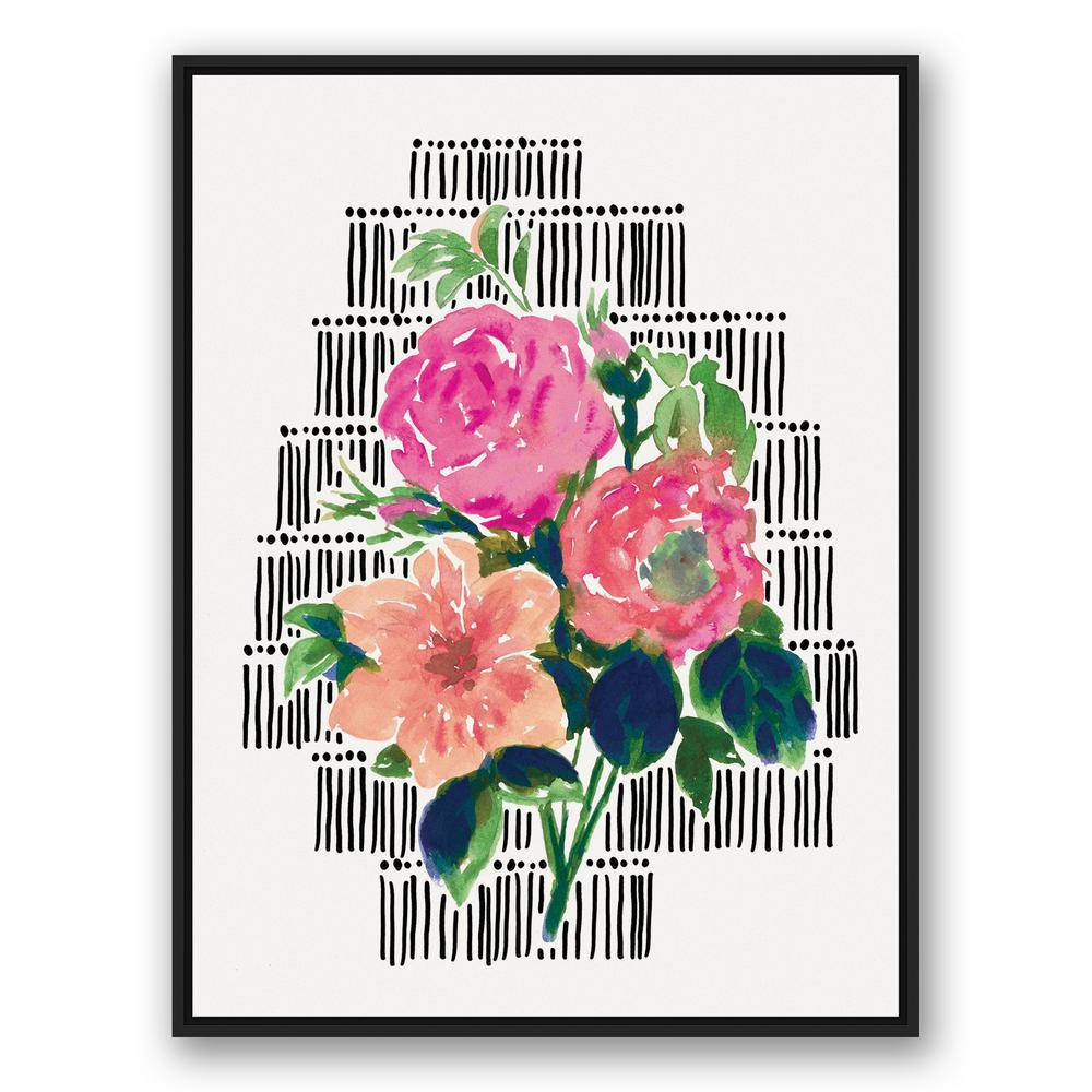 Designs direct 30 in x 40 in watercolor wild flower bouquet watercolor wild flower bouquet izmirmasajfo