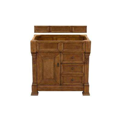 Brookfield 36 in. W Bathroom Single Vanity Cabinet with Drawers in Country Oak