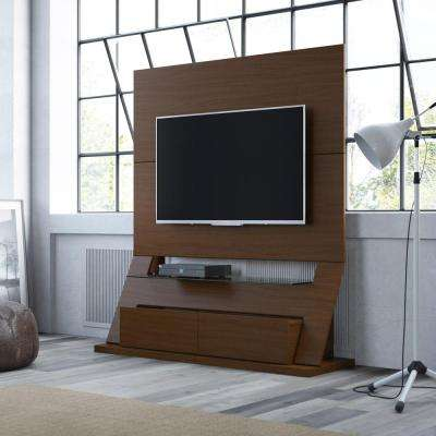 Intrepid Nut Brown Storage Entertainment Center