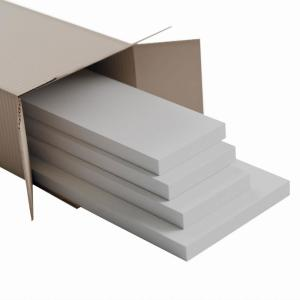 5/8 in. X 96 in. X 5-1/2 in. Expanded Cellular PVC Wainscoting Moulding Trim (4 Pack)