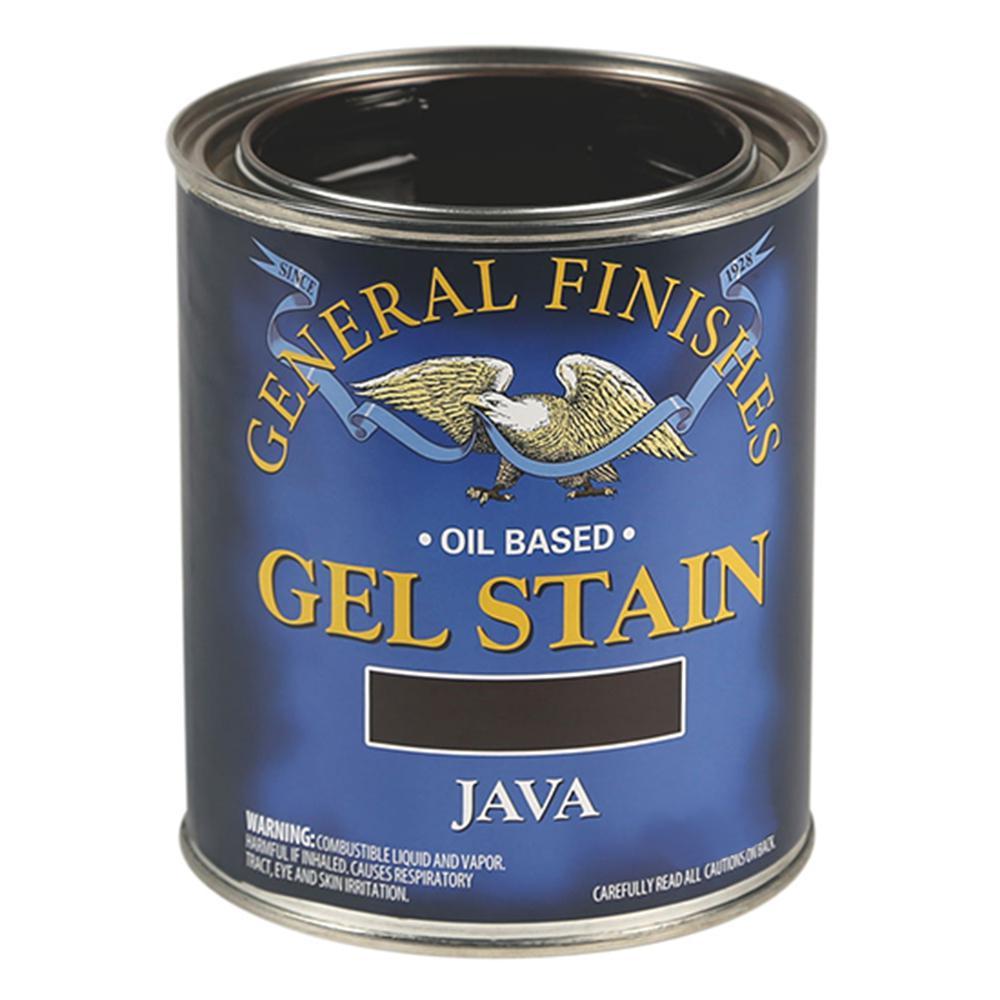 1-qt. Java Oil-Based Interior Wood Gel Stain