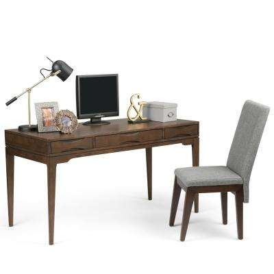 Harper Walnut Brown Stain Desk