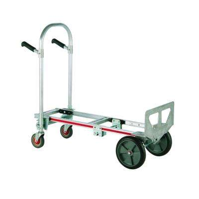 1,000 lb. Capacity Gemini Jr. Convertible Aluminum Modular Hand Truck with Balloon Cushion Wheels