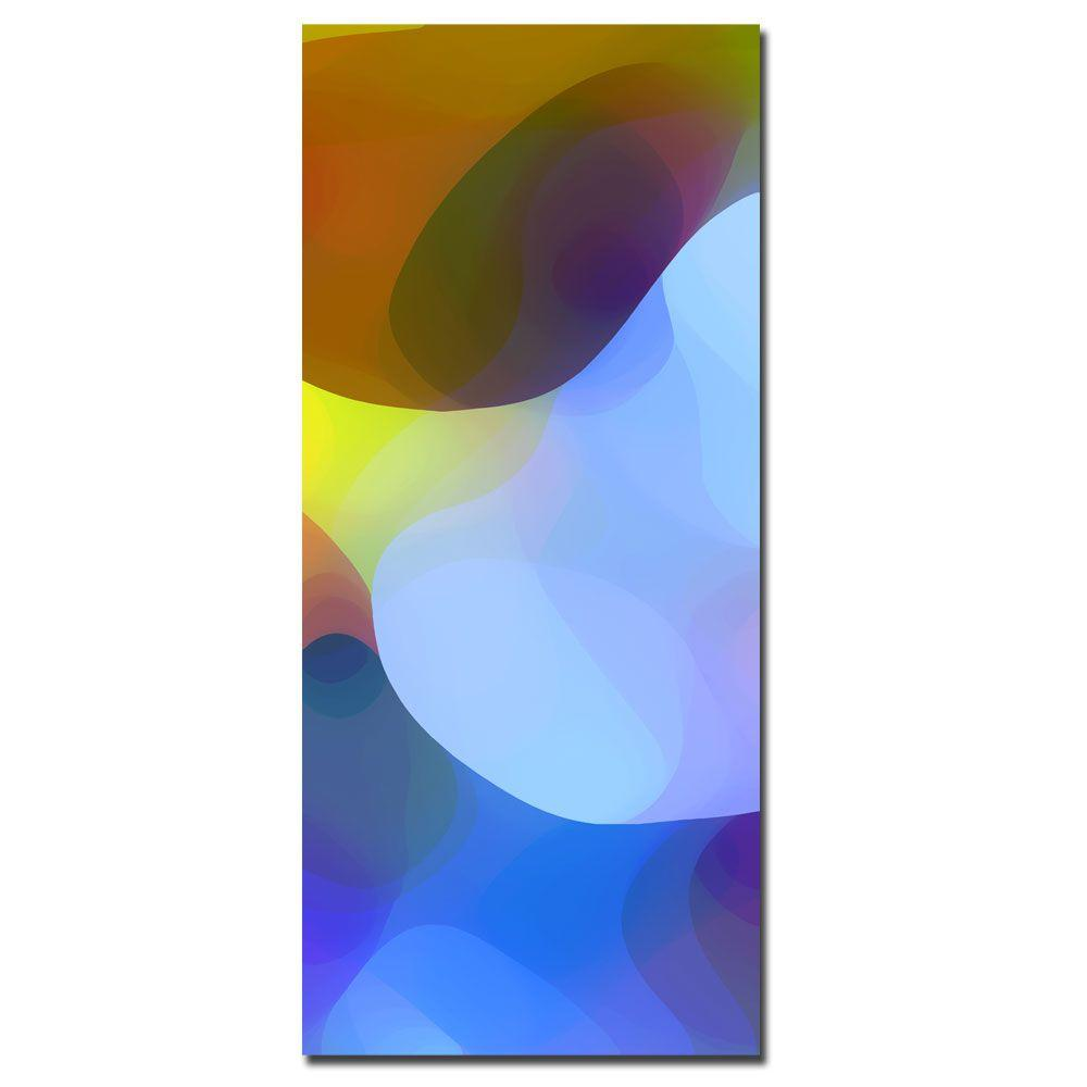 12 in. x 32 in. Dappled Light and Shade Canvas Art