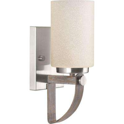 Aspen Creek Collection 1 Light Brushed Nickel Wall Sconce