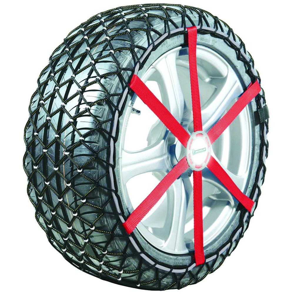 Michelin Easy Grip Composite Snow Chains Cover Four Tire Sizes (see features below for sizes)