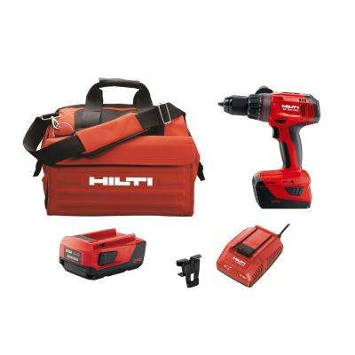 22-Volt Lithium-Ion 1/2 in. Cordless Hammer Drill Driver SF 6H