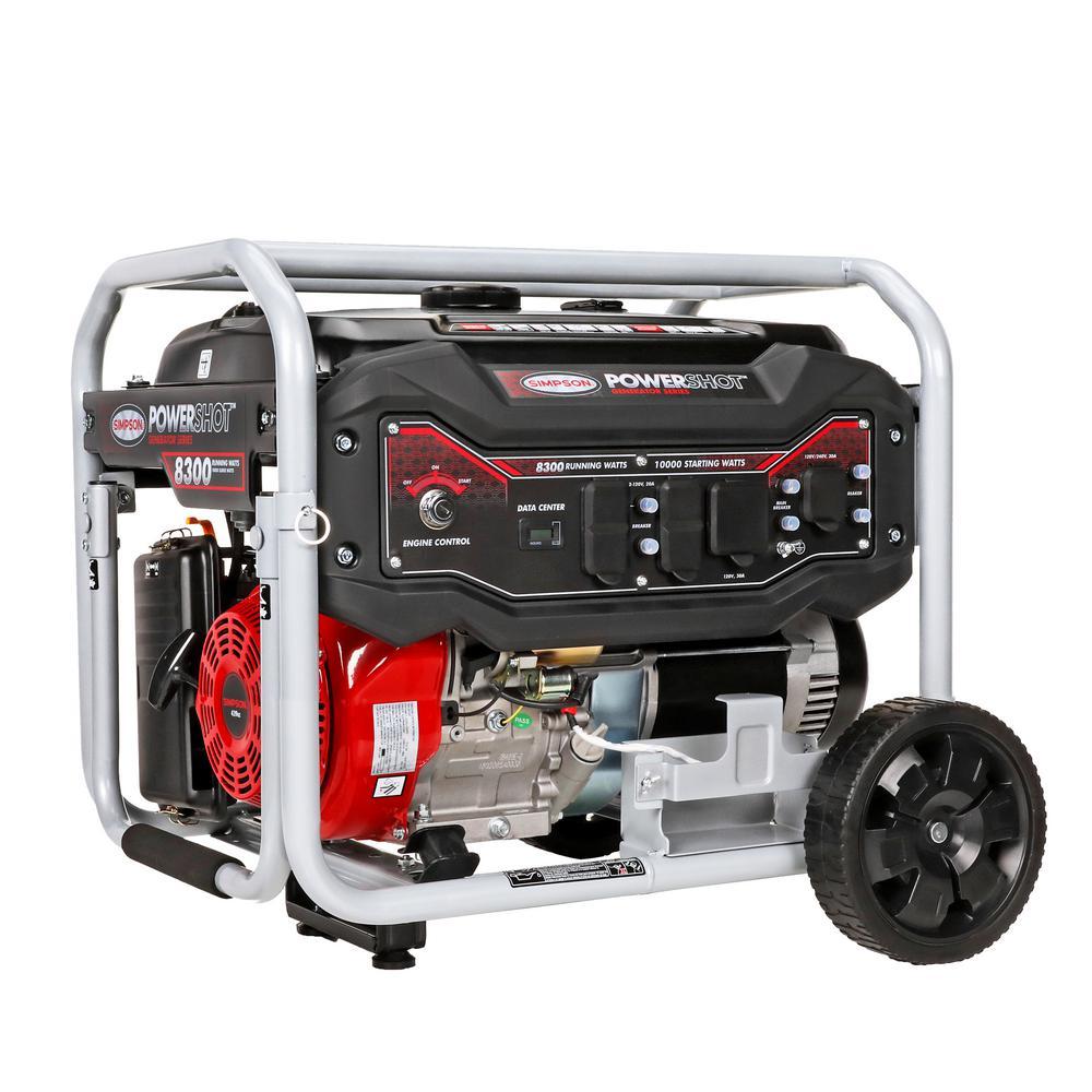 PowerShot Portable 8300-Watt Generator