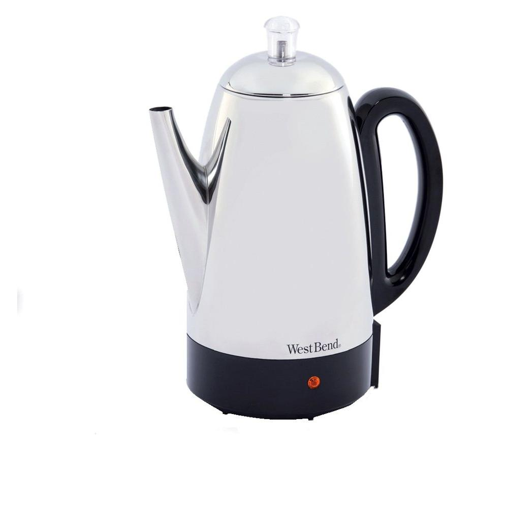 West Bend 12-Cup Percolator-54159 - The Home Depot