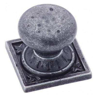 Ambrosia 1-1/2 in (38 mm) Length Wrought Iron Dark Cabinet Knob