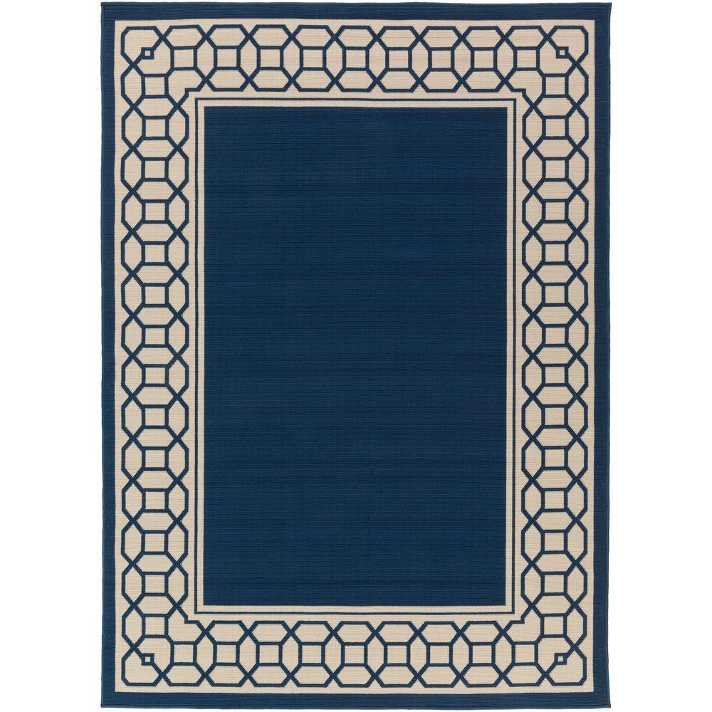 Keene Navy 9 ft. 3 in. x 12 ft. 6 in.