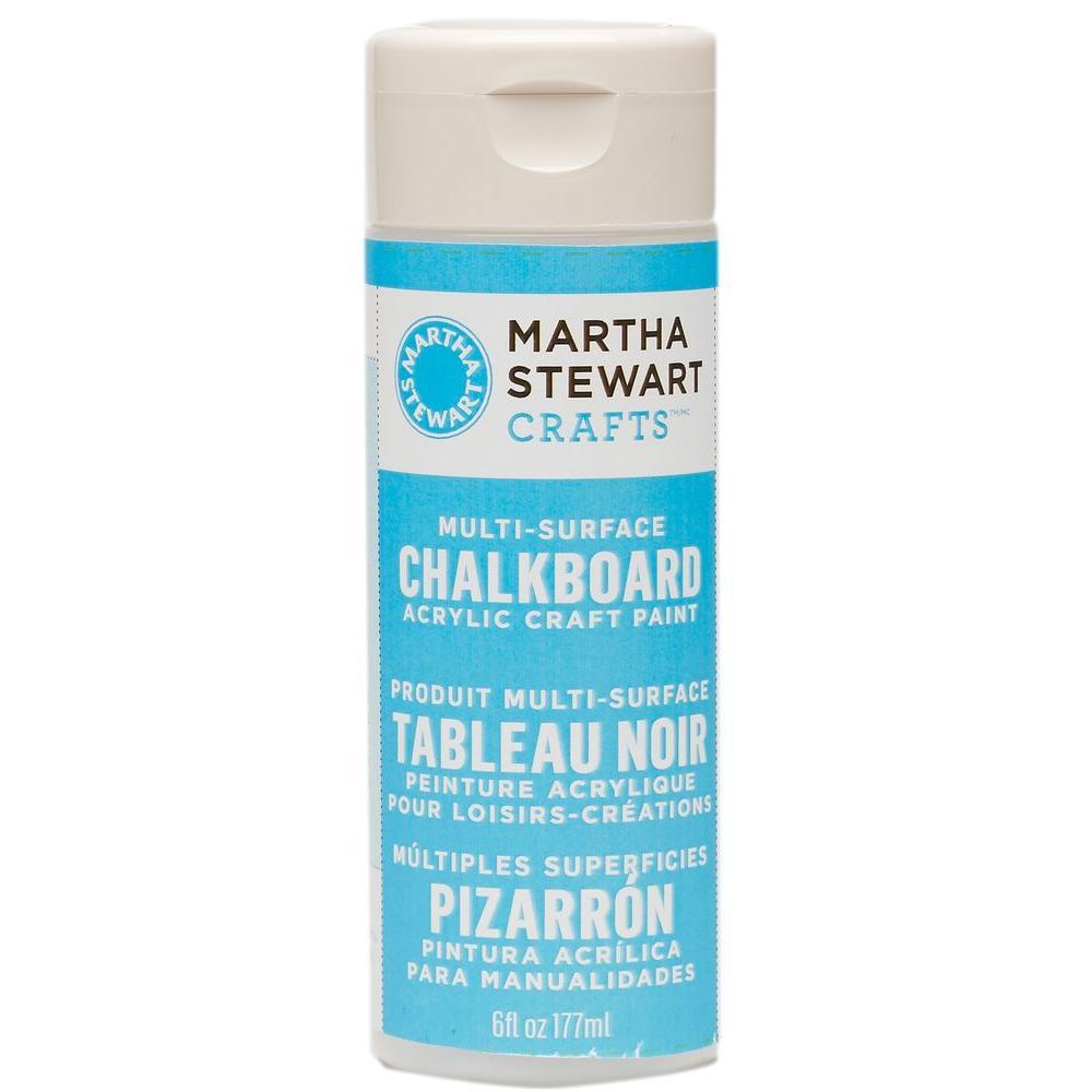 Martha Stewart Crafts 6-oz. Blue Multi-Surface Chalkboard Acrylic Craft Paint