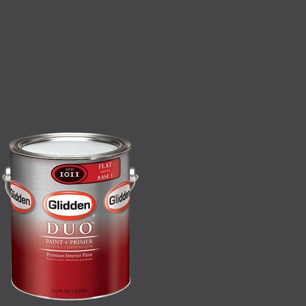 Glidden DUO Martha Stewart Living 1-gal. #MSL279-01F Francesca Flat Interior Paint with Primer - DISCONTINUED