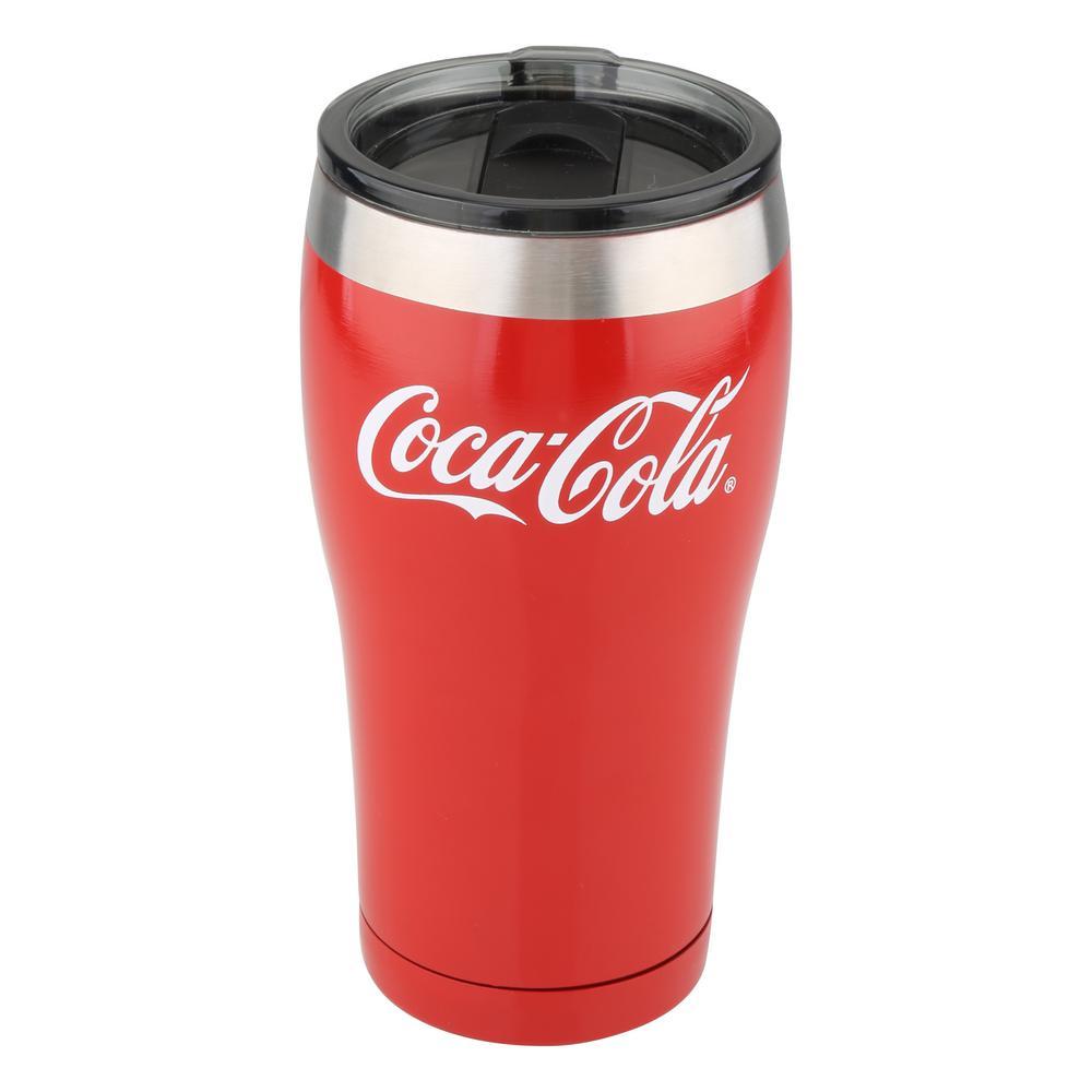 Coca-Cola 20oz Tumbler Cups Set of 2 BRAND NEW