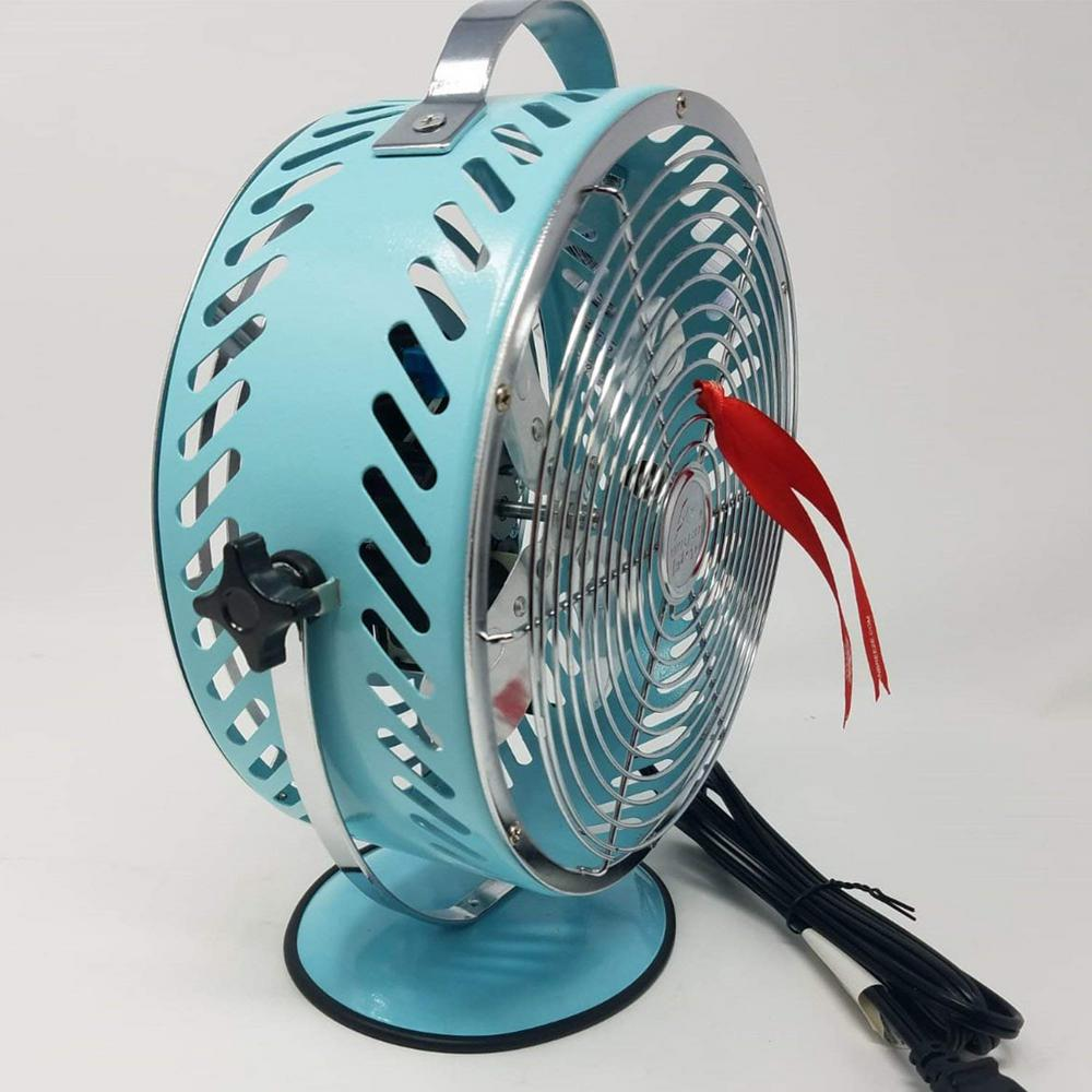 Himalayan Breeze Bronze Fan Portable Fan Unique Decorative Lightweight Table Fan Heating Cooling Air Quality Household Fans